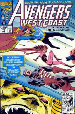 West Coast Avengers Vol. 2 (Comic-book. 1985 -1989) #79