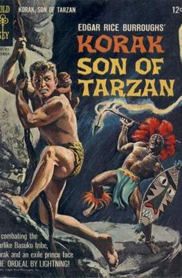 Korak Son of Tarzan / The Tarzan Family (Comic-book. 32 pp) #6