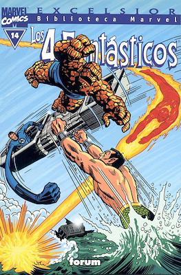 Biblioteca Marvel: Los 4 Fantásticos (1999-2001) (Rústica 160 pp) #14