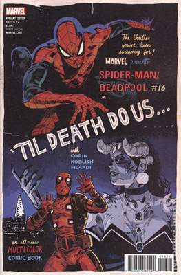 Spider-Man / Deadpool (Variant Cover) (Comic Book) #16