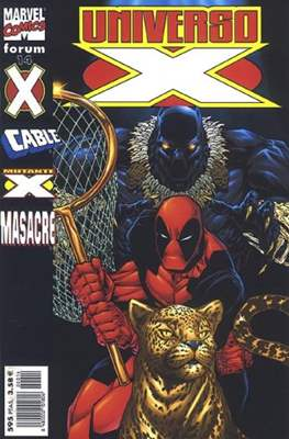 Universo-X (2000-2001) (Grapa. 17x26. 72/80 páginas. Color. (2000-2001)) #14