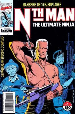 Nth Man. The Ultimate Ninja (Grapa. 17x26. 24 páginas. Color. 1991-1992) #2
