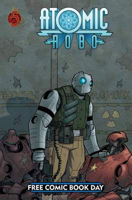 Atomic Robo - Free Comic Book Day 2008