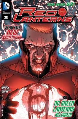 Red Lanterns (2011 - 2015) New 52 #25