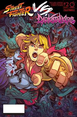 Street Fighter Vs. Darkstalkers (Comic-book) #2