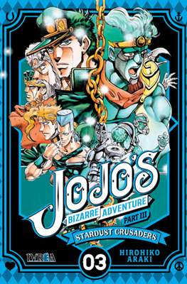 JoJo's Bizarre Adventure - Part III: Stardust Crusaders (Rústica con sobrecubierta) #3