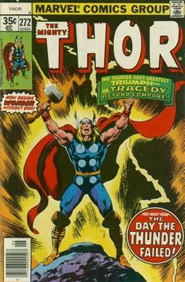 Journey into Mystery / Thor Vol 1 (Comic Book) #272