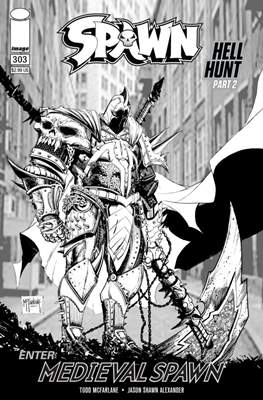 Spawn (Variant Cover) (Comic Book) #303.1