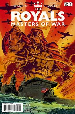 The Royals: Masters of War (Comic Book) #3