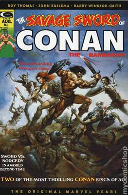 The Savage Sword of Conan - Omnibus. The Original Marvel Years (Variant Cover) (Hardcover 776 pp) #1