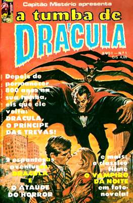 Capitão Mistério apresenta: A tumba de Drácula / Capitão Mistério apresenta: Conde Drácula (Grampa) #1