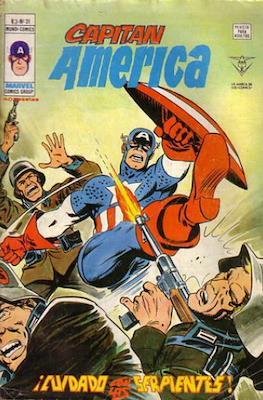 Capitán América Vol. 3 (1975-1980) (Grapa) #31