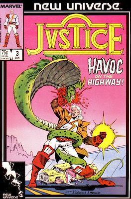 Justice. New Universe (1986) (Grapa.) #3
