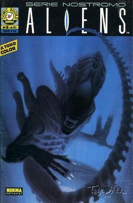 Aliens. Serie Nostromo (Grapa 36 pp) #8