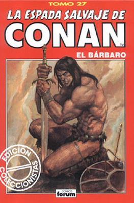 La Espada Salvaje de Conan el Bárbaro. Edición coleccionistas (Rojo) (Cartoné 192 pp) #27
