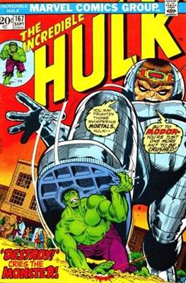 The Incredible Hulk Vol. 1 (1962-1999) (Comic Book) #167