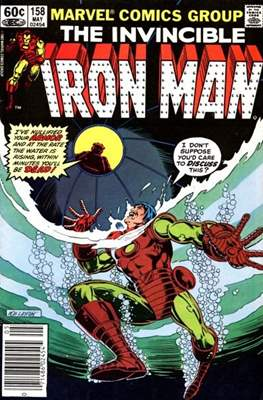 Iron Man Vol. 1 (1968-1996) (Comic book) #158