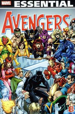 The Essential Avengers (Softcover 1st Edition) #8
