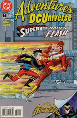 Adventures in the DC Universe (comic grapa usa) #14