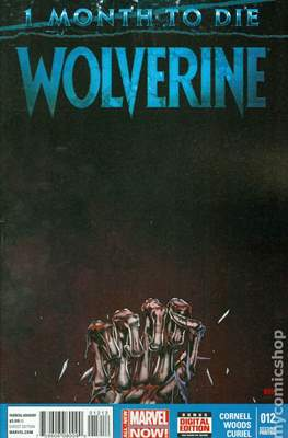 Wolverine (2014 Variant Cover) (Comic Book) #12.1