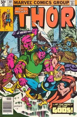 Journey into Mystery / Thor Vol 1 (Comic Book) #301
