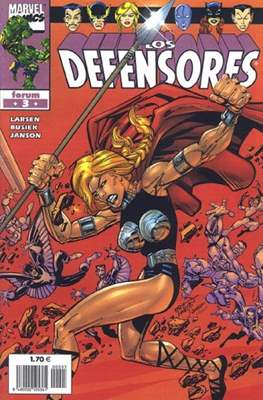 Los Defensores (2002) (Grapa. 17x26. 24 páginas. Color.) #3