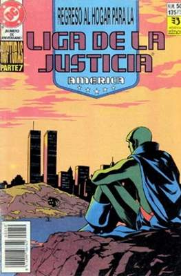 Liga de la Justicia / Liga de la Justicia internacional / Liga de la Justicia de America (1988-1992) (Grapa) #50