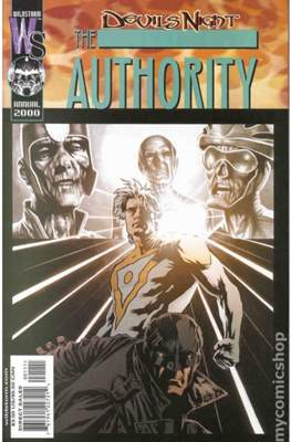 The Authority Devil's Night Annual 2000