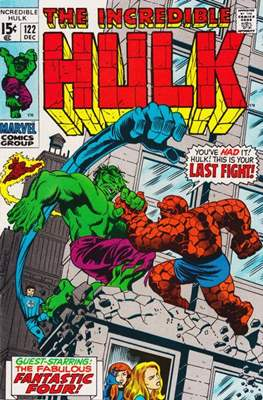 The Incredible Hulk Vol.1 (Saddle-stitched. 1962-1999) #122