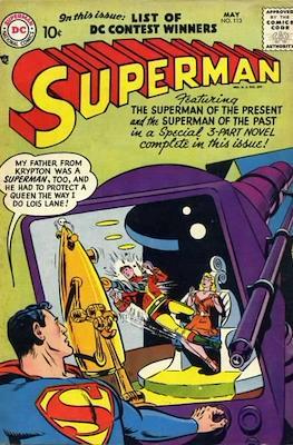 Superman Vol. 1 / Adventures of Superman Vol. 1 (1939-2011) (Comic Book) #113