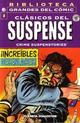 Clásicos del Suspense. Biblioteca Grandes del Cómic (Rústica 144-176 pp) #3