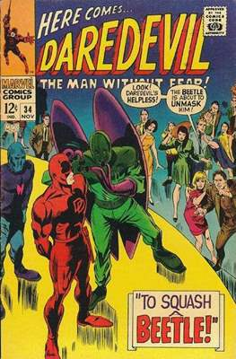 Daredevil Vol. 1 (1964-1998) (Comic Book) #34