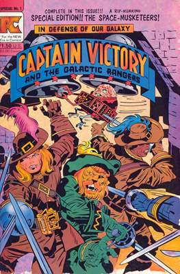Captain Victory and the Galactic Rangers Special