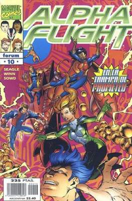 Alpha Flight Vol. 2 (1998-1999) (Grapa) #10