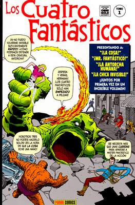 Los Cuatro Fantásticos. Marvel Gold (Omnigold)