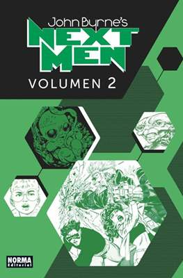 John Byrne's Next Men (Cartoné con sobrecubierta.) #2