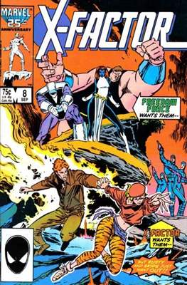 X-Factor Vol. 1 (1986-1998) (Comic Book) #8