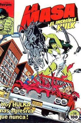 La Masa. El Increíble Hulk (Grapa 36-32 pp) #38