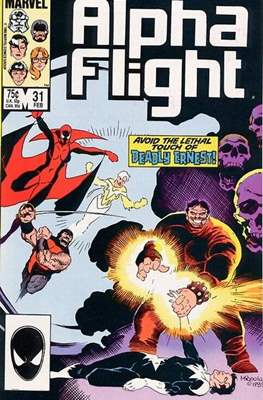 Alpha Flight Vol. 1 (1983-1994) (Comic Book) #31