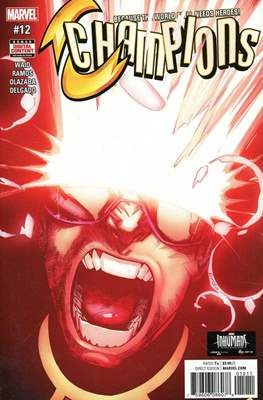 Champions Vol. 2 (Comic Book) #12