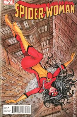 Spider-Woman (Vol. 5 2014-2015 Variant Covers) (Grapa) #1.2
