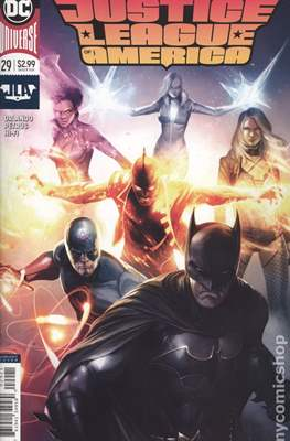 Justice League of America vol. 5 (2017-2018 Variant Covers) (Comic Book) #29