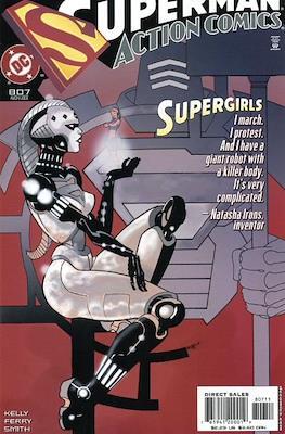 Action Comics Vol. 1 (1938-2011; 2016-) (Comic Book) #807