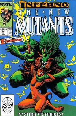 The New Mutants #72