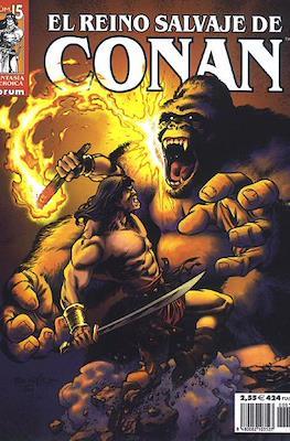 El Reino Salvaje de Conan (Grapa 48-80 pp) #15