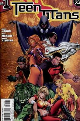 Teen Titans Vol. 3 (2003-2011 Variant Cover) (Comic Book) #1