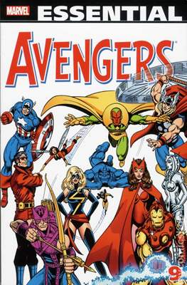 The Essential Avengers (Softcover 1st Edition) #9