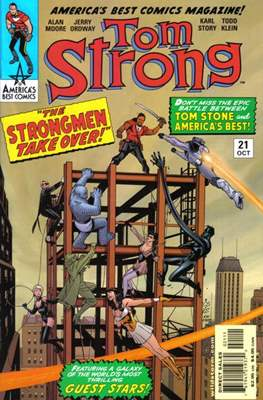 Tom Strong (Comic Book) #21