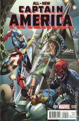 All-New Captain America (Variant Cover) #1.9