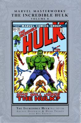Marvel Masterworks The Incredible Hulk (Hardcover) #8